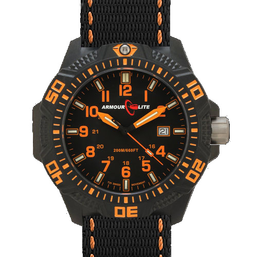 ArmourLite Tritium Watch - Caliber Series AL602