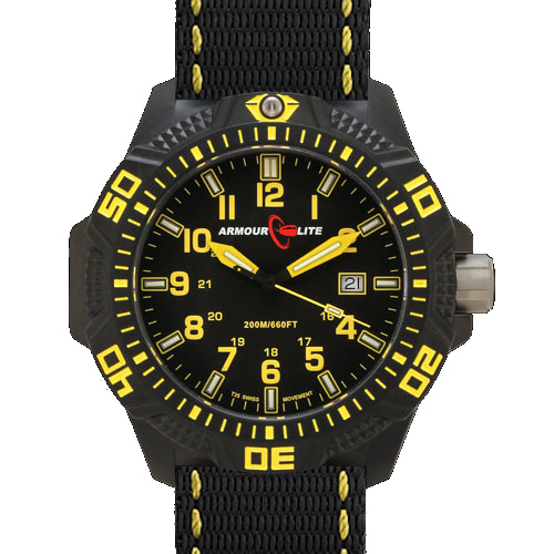 ArmourLite Tritium Watch - Caliber Series AL604