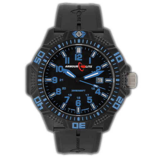 ArmourLite Tritium Watch - Caliber Series AL611 (NBR Rubber Band)