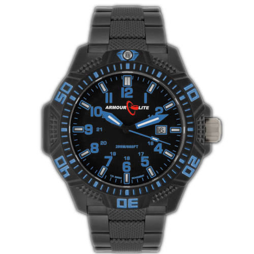 ArmourLite Tritium Watch - Caliber Series AL621 (PVD Band)