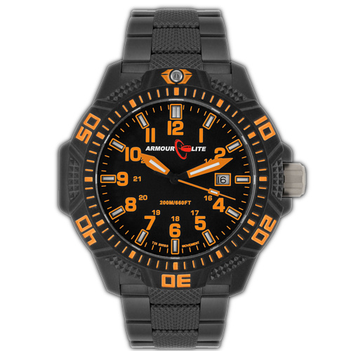 ArmourLite Tritium Watch - Caliber Series AL622 (PVD Band)