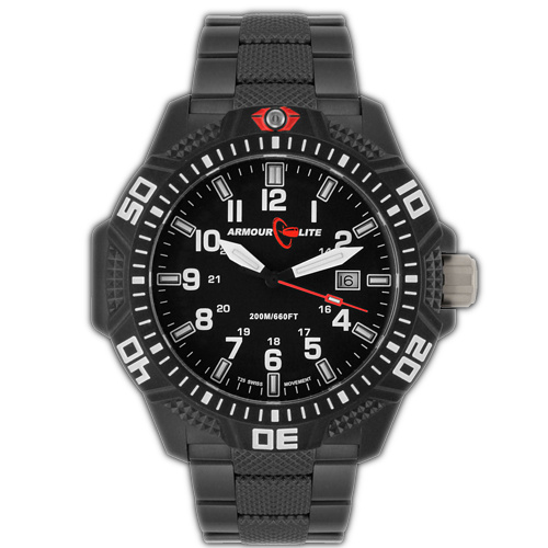 ArmourLite Tritium Watch - Caliber Series AL623 (PVD Band)