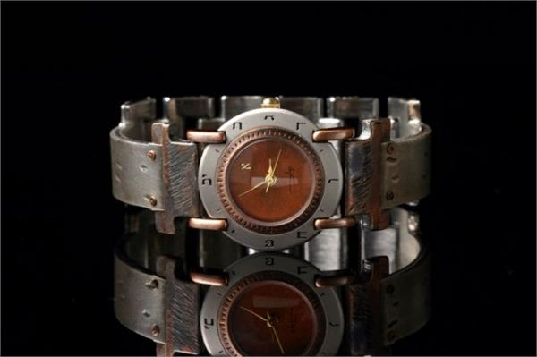 Judaica Full Moon - WatchCraft (R) Handmade Watch (ALEPH S)