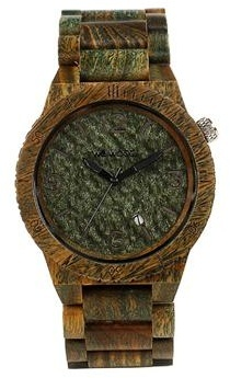 WeWood Wooden Watch - Alpha Army (wwood07p)