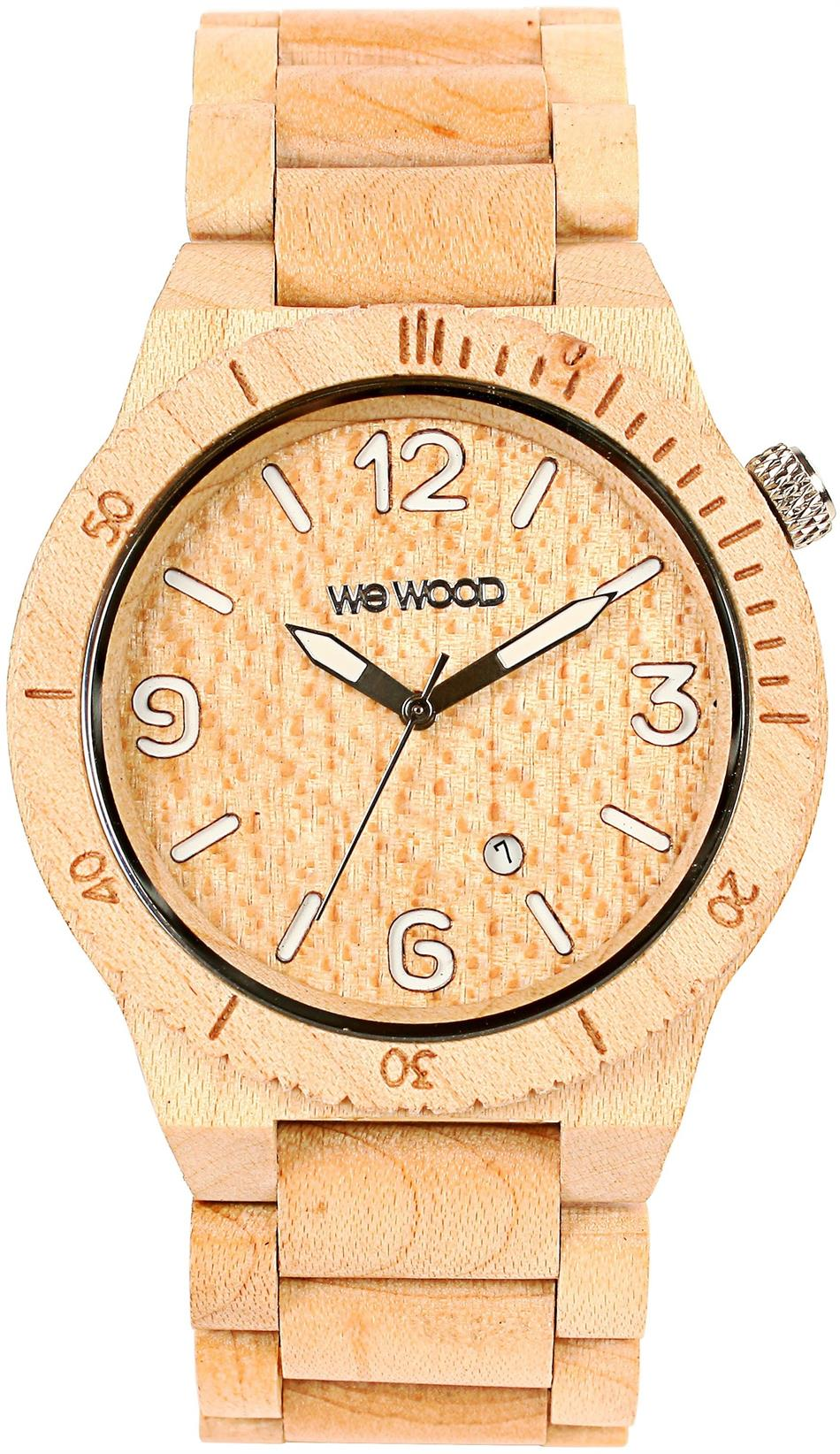 WeWood Wooden Watch - Alpha Beige (wwood06p) - LIMITED STOCK