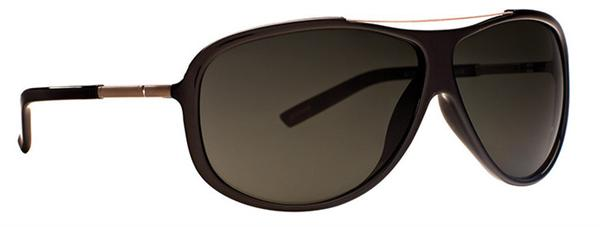 Anarchy Sunglasses - Altercate Shiny Black - Polarized - DISCONTINUED