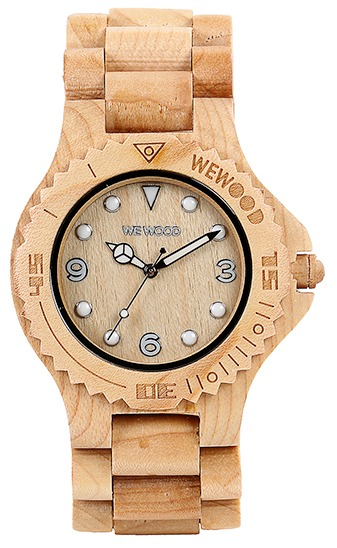 WeWood Wooden Watch - Aludra Beige - DISCONTINUED