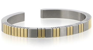 Qray Bracelet - Qray Feather Flex Stainless Steel Bracelet
