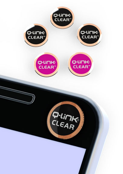 Q-Link CLEAR Pink and Black Multi-Pack of 5 - DISCONTINUED