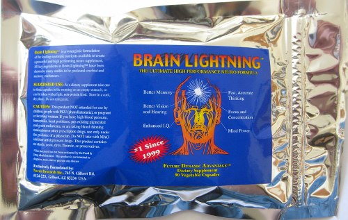 Brain Lightning TM by Novus Research (90 vegi-capsules) (novusBL)