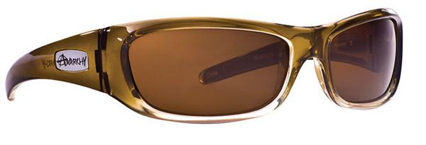 Anarchy Sunglasses - Blacken Olive Fade - Polarized - DISCONTINUED