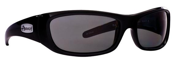 Anarchy Sunglasses - Blacken Shiny Black - DISCONTINUED