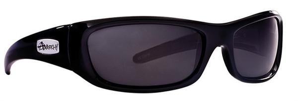 Anarchy Sunglasses - Blacken Shiny Black - Polarized - DISCONTINUED