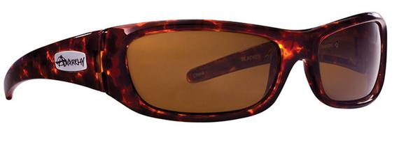 Anarchy Sunglasses - Blacken Shiny Tortoise - Polarized - DISCONTINUED