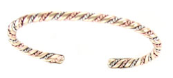 Copper Twist Bracelet  - Navajo Native American Handcrafted - DISCONTINUED