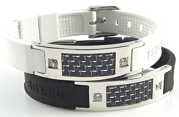 Carbon S - Black - Magnetic Therapy Bracelet (Mens) (CARBONS-01) - DISCONTINUED