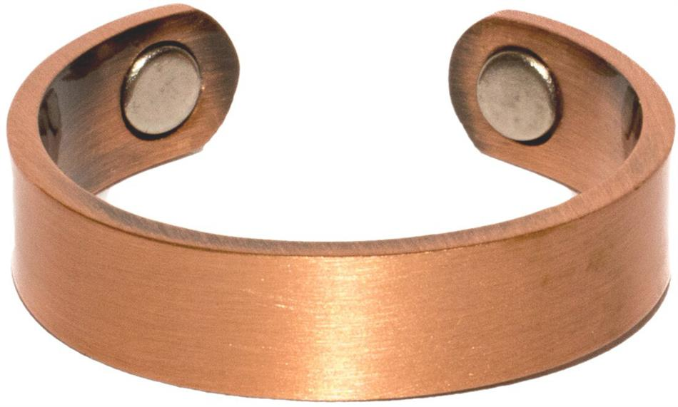 Plain Copper Band - Magnetic Therapy Ring (CCR-115)