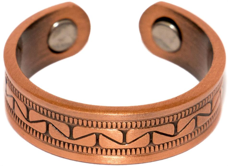 Copper Tiles - Magnetic Therapy Ring (CCR-127)