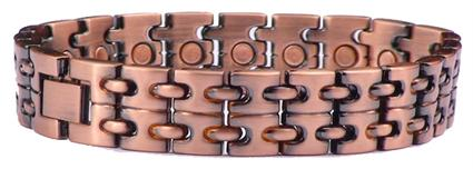 Copper Two-Stack - Magnetic Therapy Bracelet (CL-10)