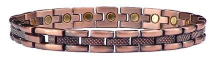 Copper Fine Line - Magnetic Therapy Bracelet (CL-11)