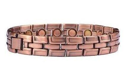 Copper Pure Joy - Magnetic Therapy Bracelet or Anklet (CL-12)