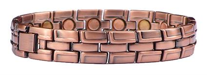 Copper Pure Joy - Magnetic Therapy Bracelet (CL-12)