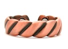 Copper Ridges - Magnetic Therapy Ring (CR-02)