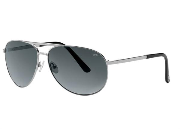 Angel Sunglasses - Craze - Silver Frame with Smoke Polarized Lens - DISCONTINUED