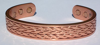Creativity - Solid Copper Magnetic Therapy Bracelet (MBG-007)