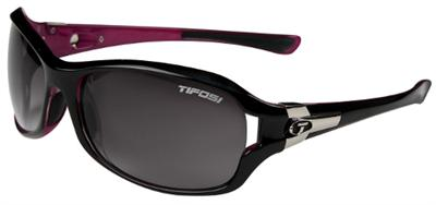 Tifosi Sunglasses - Dea Gloss Black and Pink - DISCONTINUED