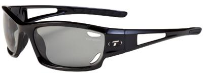 Tifosi Sunglasses - Dolomite Gloss Black - Fototec (Light-Adjusting) Polarized - DISCONTINUED