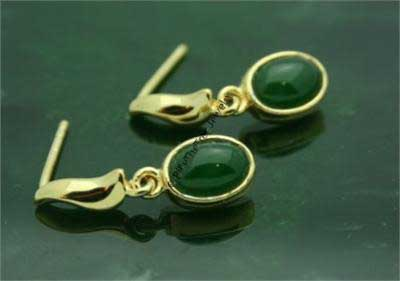 Polar Jade Earrings (E0582)