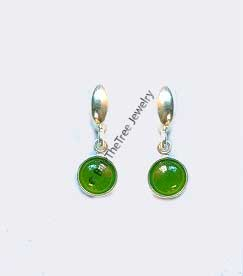 Polar Jade Earrings (E0583) - DISCONTINUED