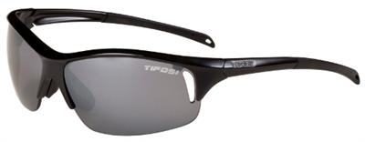 Tifosi Sunglasses - Envy Gloss Black - Golf & Tennis Edition - DISCONTINUED