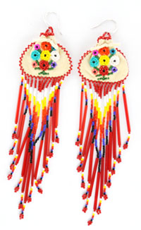 Beaded Pouch Earring - DISCONTINUED