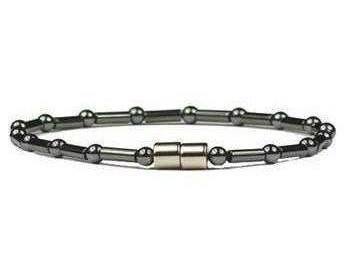Hematite Classic - Magnetic Therapy Anklet (HA-04)