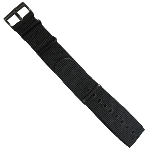 ArmourLite - Replacement Black Nylon Band INB100-BLK for Isobrite Watches (22mm)