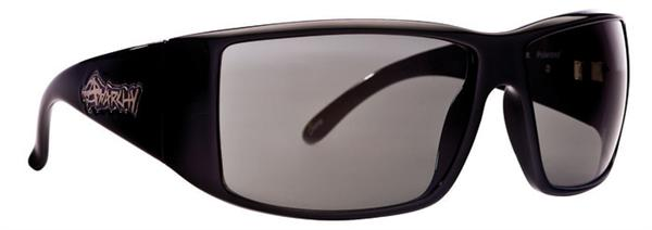 Anarchy Sunglasses - Iniquity Shiny Black - Polarized