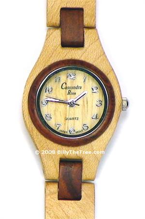 Italia Due Womens - Wooden Watch (SR141W) - CLEARANCE SALE - DISCONTINUED