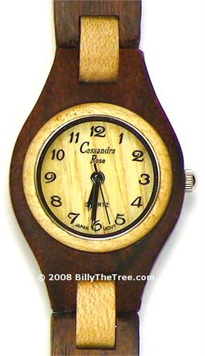 Italia Uno Women's - Wooden Watch (RS141W) - CLEARANCE SALE - DISCONTINUED
