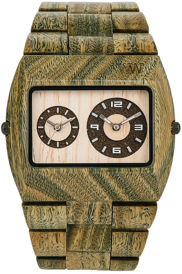 WeWood Wooden Watch - Jupiter Army (wwood011)