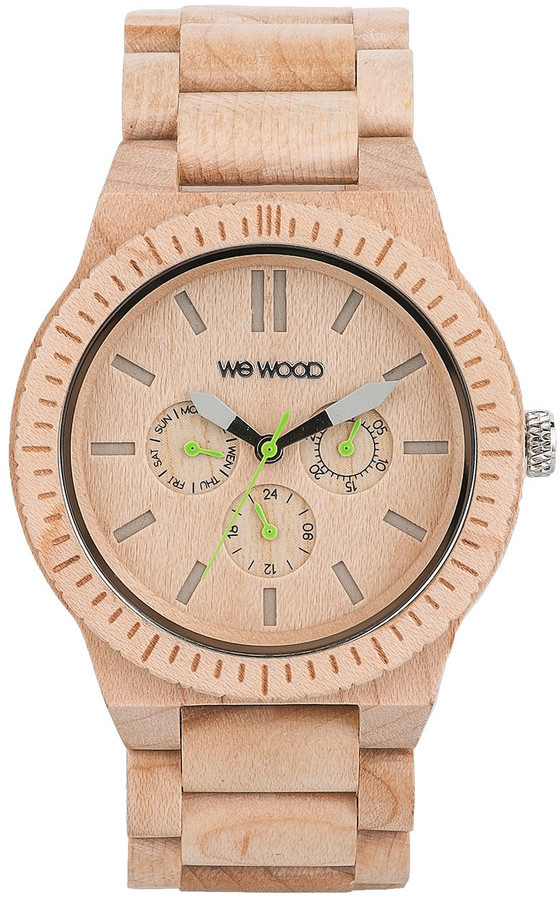 WeWood Wooden Watch - Kappa Beige (wwood01k)