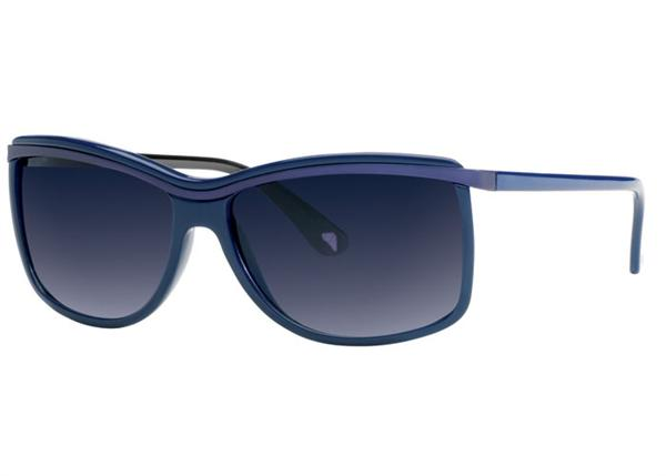 Angel Sunglasses - Katt - Navy Frame with Navy Gradient Lens - DISCONTINUED