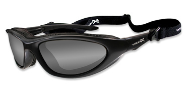 Wiley X Sunglasses - Blink Metallic Black with Light Adjusting Grey Lens - Climate Control Series