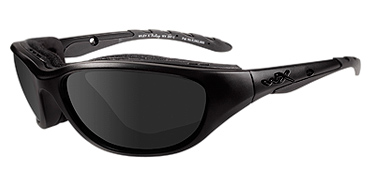 Wiley X Sunglasses - Airrage Black Ops/Matte Black with Grey Lens - Climate Control Series