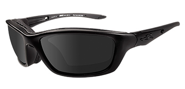 Wiley X Sunglasses - Brick Black Ops/Matte Black with Grey Lens - Climate Control Series