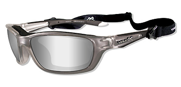 Wiley X Sunglasses - Brick Crystal Metallic with Silver Flash Lens - Climate Control Series