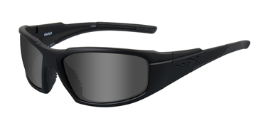 Wiley X Sunglasses - Rush Black Ops/Matte Black with Smoke Grey Lens - Active Series - DISCONTINUED