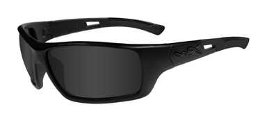 Wiley X Sunglasses - Slay Black Ops/Matte Black with Smoke Grey Lens - Active Series