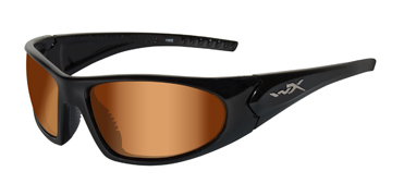 Wiley X Sunglasses - Zen Gloss Black with Bronze Flash Lens - Active Series - LIMITED STOCK